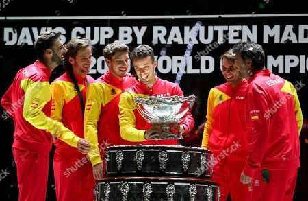 Editorial photo of Davis Cup Finals by Rakuten, Day 7, Tennis, La Caja Magica, Madrid, Spain - 24 Nov 2019