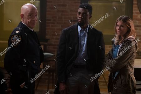 JK Simmons as Captain McKenna, Chadwick Boseman as Andre Davis and Sienna Miller as Frankie Burns