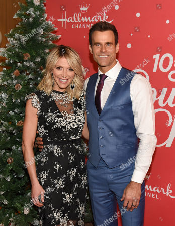 Stock Picture of Debbie Matenopoulos, Cameron Mathison
