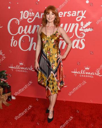Editorial image of 'Christmas Under the Stars' film screening, Los Angeles, USA - 20 Nov 2019
