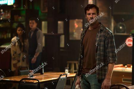 Zazie Beetz as Alicia, Karl Glusman as Jeffrey and Armie Hammer as Will