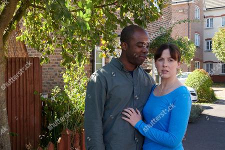 Ken Nwosu as Thomas and Alexandra Roach as Jess