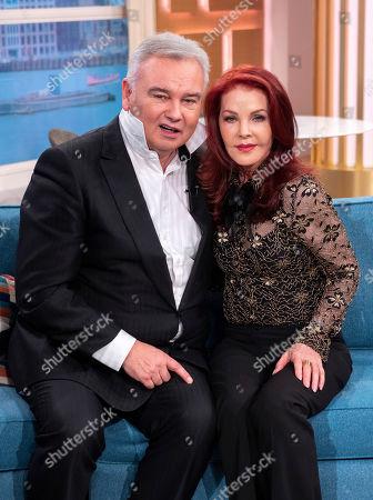 Eamonn Holmes and Priscilla Presley