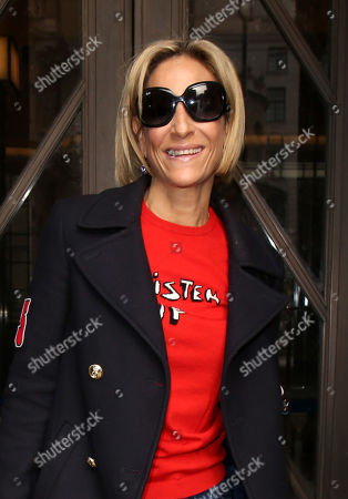 Emily Maitlis at the BBC Radio studios