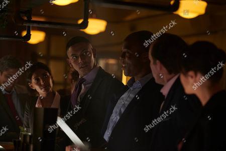 Ritu Arya as Becky, Sean Sagar as Andy and Ken Nwosu as Thomas