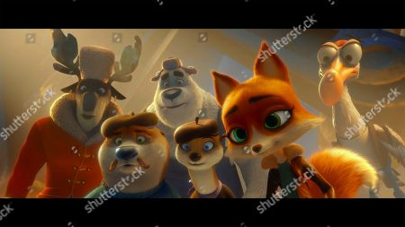 Editorial picture of 'Arctic Dogs' Film - 2019