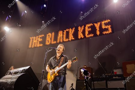 Stock Photo of The Black Keys- Dan Auerbach