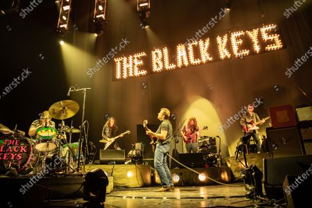 Editorial picture of The Black Keys in concert at Chase Center, San Francisco, USA - 20 Nov 2019