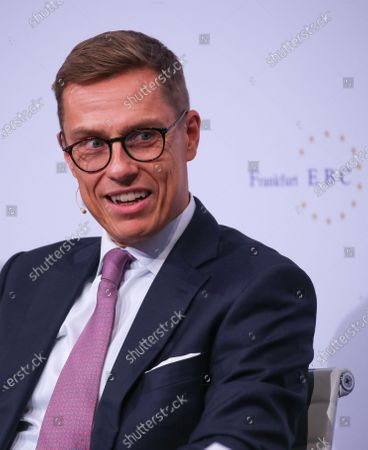 Alexander Stubb, Vice President of the European Investment Bank attends the 29th European Banking Congress in Frankfurt am Main, Germany, 22 November 2019.
