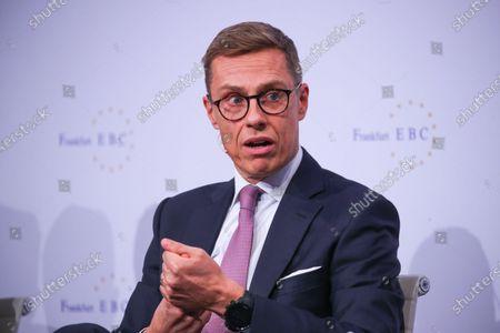 Editorial picture of 29th European Banking Congress in Frankfurt, Frankfurt Am Main, Germany - 22 Nov 2019