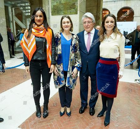 Begona Villacis, Marta Rivera, Enrique Cerezo and Andrea Levi
