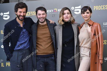 Francesco Scianna, Stefano Lodovichi, Vittoria Puccini, Camilla Filippi