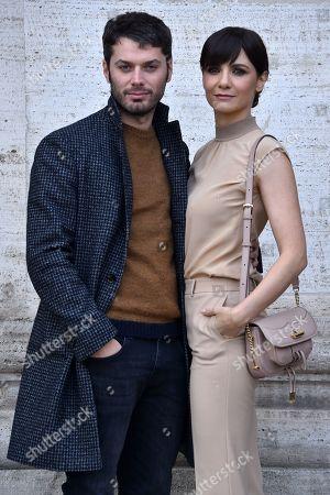 Stock Image of Stefano Lodovichi, Camilla Filippi