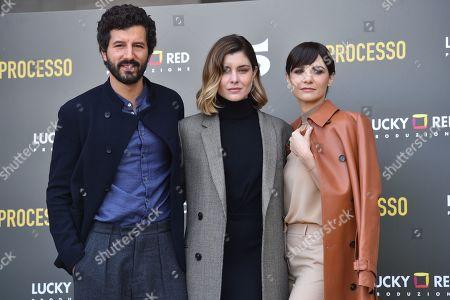 Francesco Scianna, Vittoria Puccini, Camilla Filippi