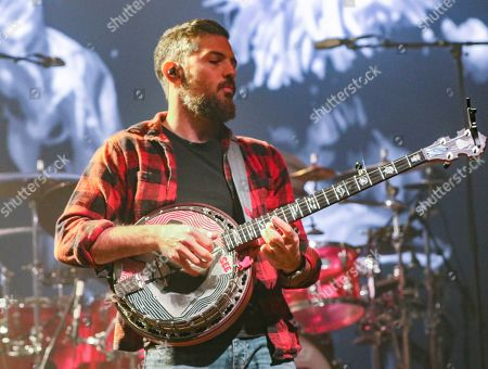 Stock Image of Scott Avett with The Avett Brothers perform at the Fox Theatre, in Atlanta