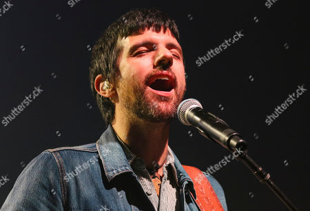Seth Avett with The Avett Brothers perform at the Fox Theatre, in Atlanta