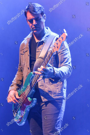 Bob Crawford with The Avett Brothers perform at the Fox Theatre, in Atlanta
