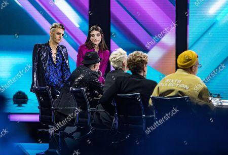 Editorial image of 'X Factor' TV show, Milan, Italy - 21 Nov 2019