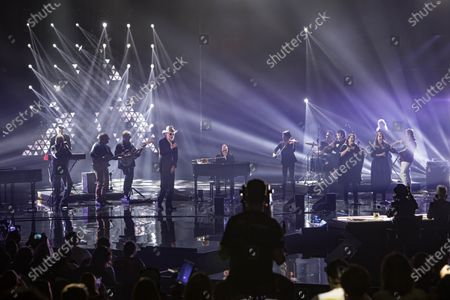 Editorial picture of 'X Factor' TV show, Milan, Italy - 21 Nov 2019