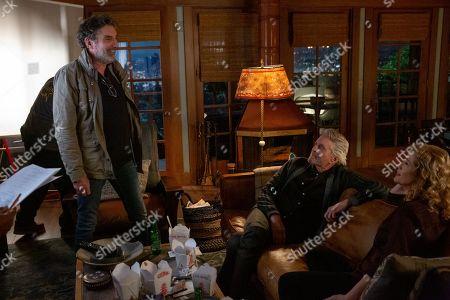 Chuck Lorre Writer/Creator, Michael Douglas as Sandy Kominsky and Nancy Travis as Lisa