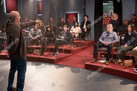 Paul Reiser as Martin, Casey Thomas Brown as Lane, Jenna Lyng Adams as Darshani, Ashleigh LaThrop as Breana, Michael Douglas as Sandy Kominsky, Sarah Baker as Mindy Kominsky and Melissa Tang as Margaret