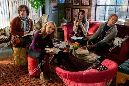 Casey Thomas Brown as Lane, Emily Osment as Theresa, Melissa Tang as Margaret and Graham Rogers as Jude