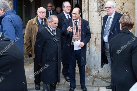 Editorial picture of Funeral of Lord Brian Mawhinney, Oundle, UK - 22 Nov 2019