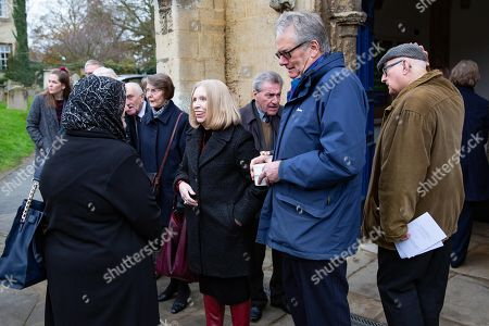 Editorial photo of Funeral of Lord Brian Mawhinney, Oundle, UK - 22 Nov 2019