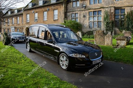 The Funeral of Lord Brian Mawhinney (1940-2019).  St Peters Church, Oundle