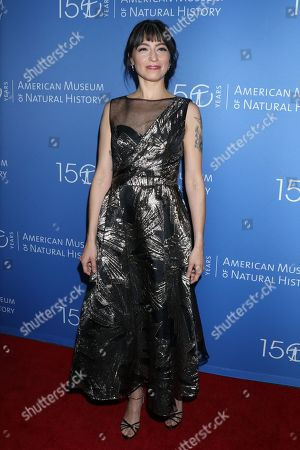 Editorial image of American Museum of Natural History Annual Benefit Gala, Arrivals, New York, USA - 21 Nov 2019