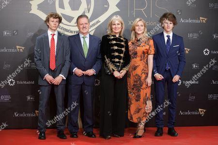 Editorial photo of Iris TV Awards, Madrid, Spain - 18 Nov 2019