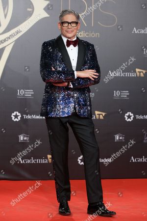Editorial picture of Iris TV Awards, Madrid, Spain - 18 Nov 2019