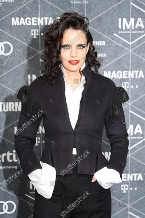 Stock Photo of Anna Calvi arrives at the red carpet of the International Music Award (IMA) 2019 in Berlin, Germany, 22 November 2019. The IMA recognizes the efforts of artists to share their work with a statement independently of the commercial success.