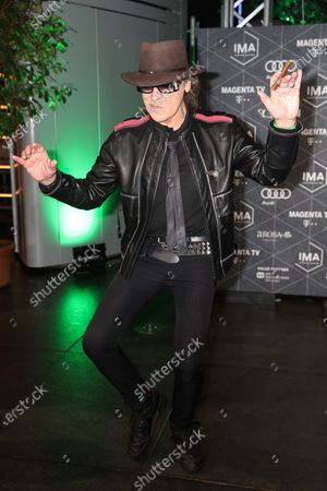 Udo Lindenberg arrives at the red carpet of the International Music Award (IMA) 2019 in Berlin, Germany, 22 November 2019. The IMA recognizes the efforts of artists to share their work with a statement independently of the commercial success.