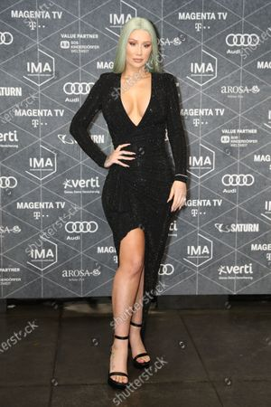 Iggy Azalea arrives at the red carpet of the International Music Award (IMA) 2019 in Berlin, Germany, 22 November 2019. The IMA recognizes the efforts of artists to share their work with a statement independently of the commercial success.