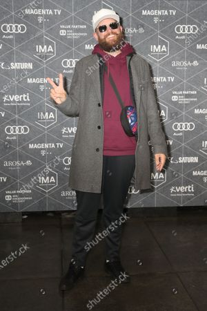 MC Fitti arrives at the red carpet of the International Music Award (IMA) 2019 in Berlin, Germany, 22 November 2019. The IMA recognizes the efforts of artists to share their work with a statement independently of the commercial success.