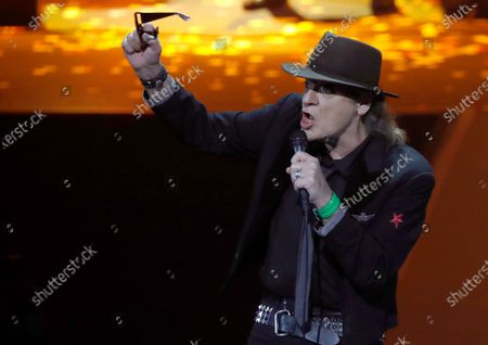 Udo Lindenberg performs during the International Music Award (IMA) 2019 in Berlin, Germany, 22 November 2019. The IMA recognizes the efforts of artists to share their work with a statement independently of the commercial success.