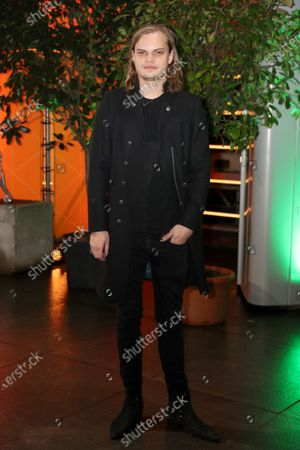 Stock Picture of Wilson Gonzalez Ochsenknecht arrives at the red carpet of the International Music Award (IMA) 2019 in Berlin, Germany, 22 November 2019. The IMA recognizes the efforts of artists to share their work with a statement independently of the commercial success.