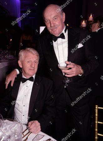 Gordon Strachan and Dermot Desmond