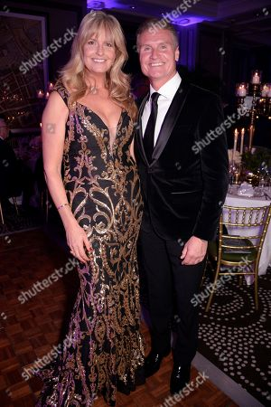Penny Lancaster and David Coulthard