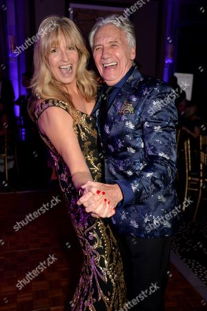 Penny Lancaster and Jeff Banks