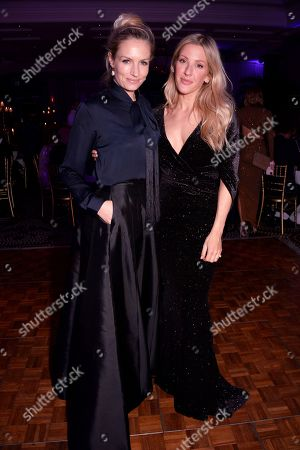 Sofia Wellesley and Ellie Goulding