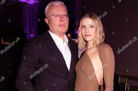 Alexander Lebedev and Elena Perminova