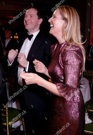 George Osborne and Laura Weir