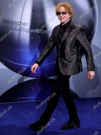 British singer Mick Hucknall of British band Simply Red attends the German Sustainability Award 'Deutscher Nachhaltigkeitspreis' at Maritim Hotel in Duesseldorf, Germany, 22 November 2019.