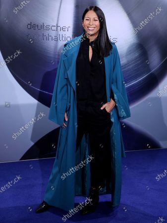 German actress Minh-Khai Phan-Thi attends the German Sustainability Award 'Deutscher Nachhaltigkeitspreis' at Maritim Hotel in Duesseldorf, Germany, 22 November 2019.