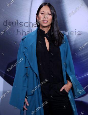 Stock Photo of German actress Minh-Khai Phan-Thi attends the German Sustainability Award 'Deutscher Nachhaltigkeitspreis' at Maritim Hotel in Duesseldorf, Germany, 22 November 2019.