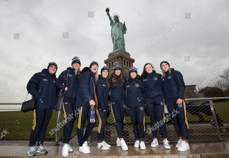 Editorial picture of Liberty Insurance Camogie All-Stars Visit The Statue Of Liberty, New York, USA  - 22 Nov 2019