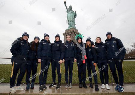 Aoife Murray, Amy O'Connor, Katrina Mackey, Gemma O'Connor, Pamela Mackey, Hannah Looney, Laura Treacy, Chloe Sigerson and Orla Cotter (all Cork)