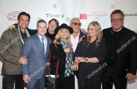 Gilles Marini, Adam Selkowitz, Donal Logue, Rosanna Arquette, Bruce Singer, Kelly Stone and Tom Arnold